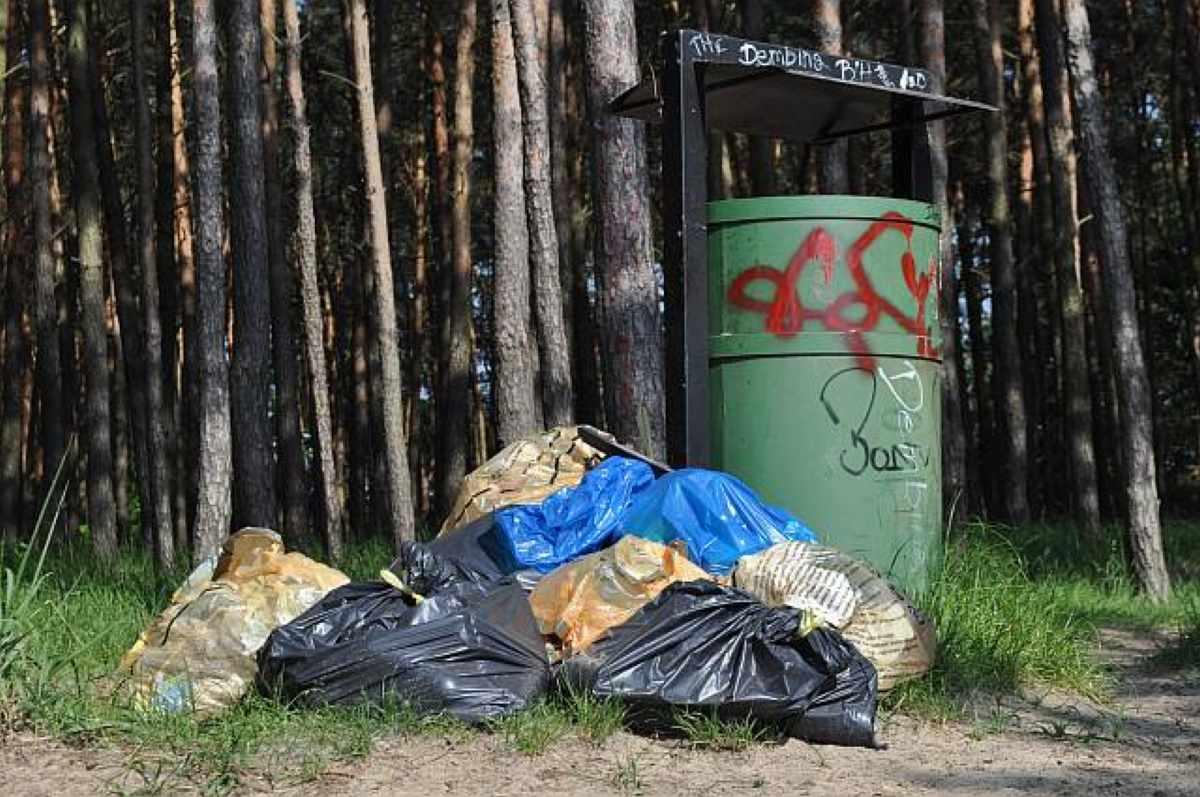 Datowanie pojemników na odpady niebezpieczne