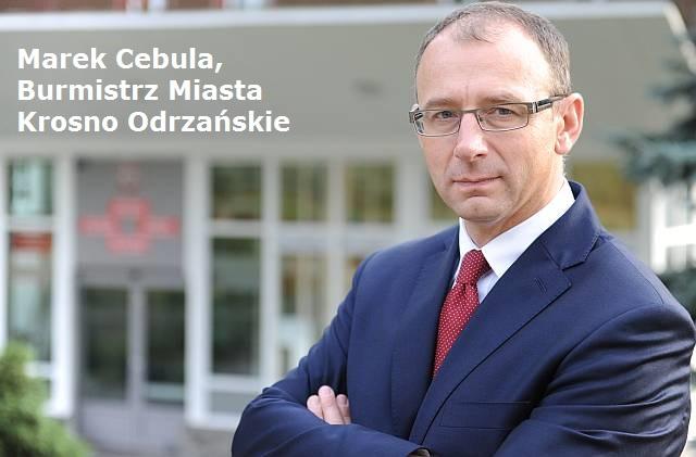 burmistrz Marek Cebula