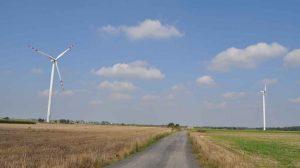 wpływu energetyki wiatrowej na krajobraz
