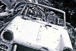 nielegalny demontaż pojazdów