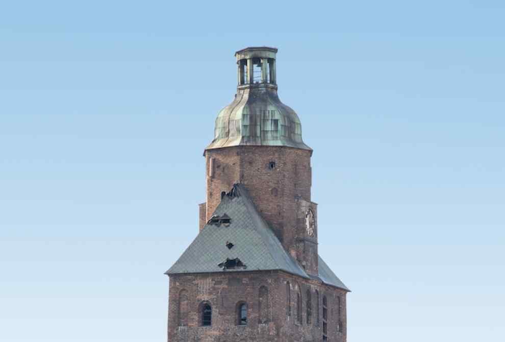 Zbiórka surowców wtórnych dla gorzowskiej katedry.