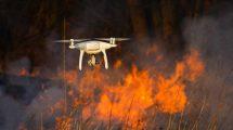 Drony w ochronie środowiska