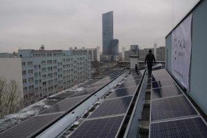 elektrownia słoneczna na wieżowcach