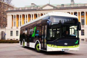 Pięć autobusów elektrycznych