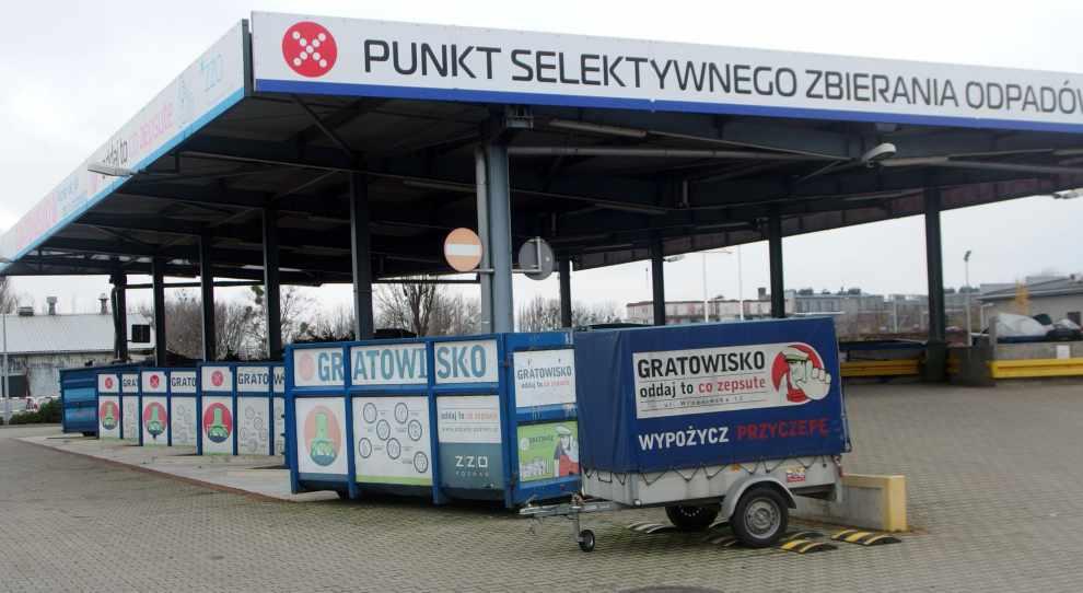 Gratowisko PSZOK w Poznaniu