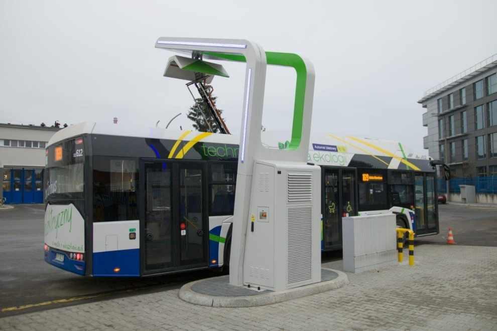 Ładowarka autobusów elektrycznych