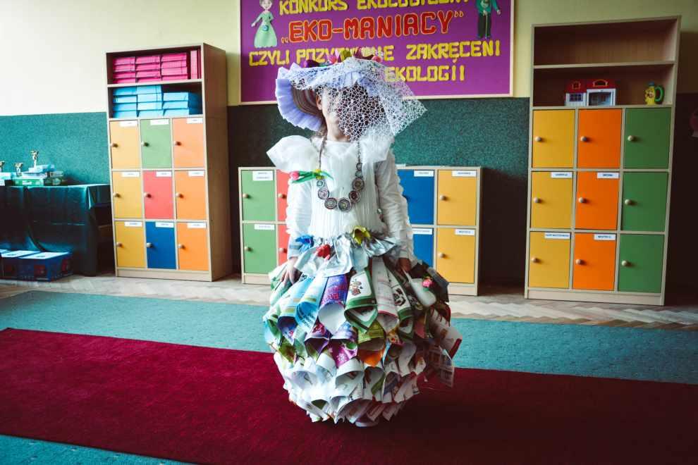 Pokaz mody z surowców wtórnych