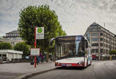 Autobusy elektryczne dla Hamburga