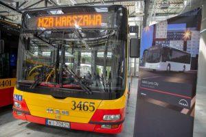 Autobusy gazowe dla Warszawy