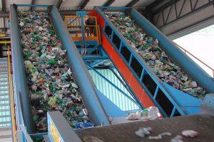 Automatyczne sortowanie odpadów opakowaniowych