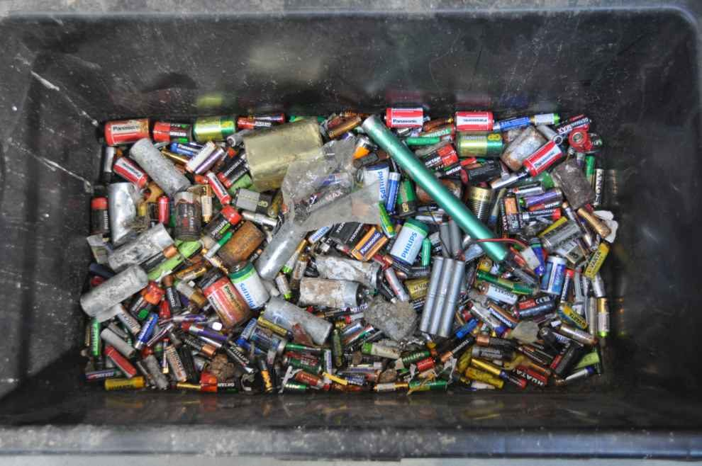 Zużyte baterie i akumulatory