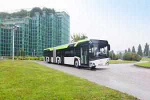 Autobusy z panelami fotowoltaicznymi