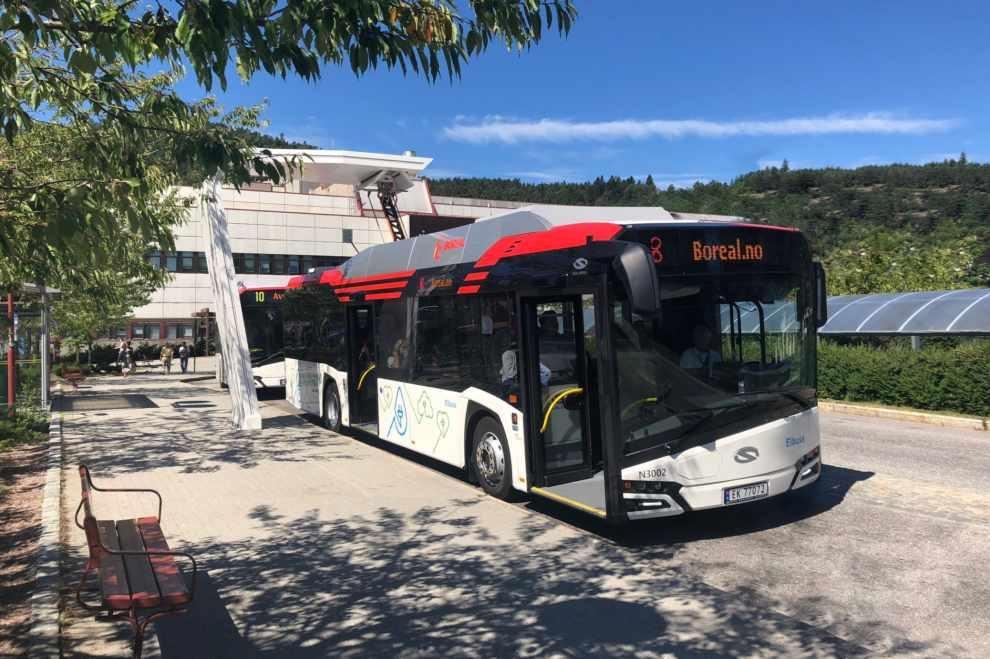 elektryczne autobusy do Norwegii