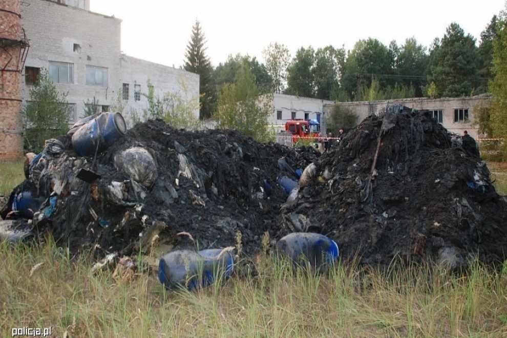 odpady na dziko