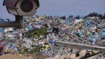 Monitoring wizyjny składowisk i magazynów odpadów