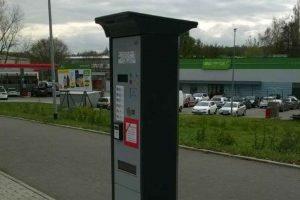 automat biletowy na energię słoneczną