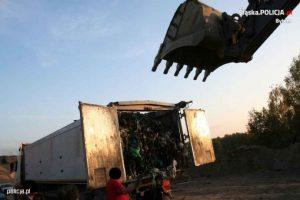 Transport odpadów zatrzymany