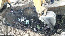 Odpady zakopane