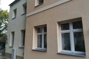 Ocieplone ściany i wymienione ogrzewanie