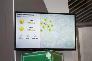 System monitorujący jakość powietrza