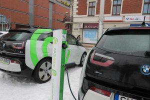 Samochody elektryczne w Rybniku
