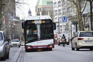 Elektryczne autobusy w Hamburgu