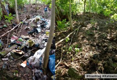 Śmieciowe wyzwanie w Katowicach
