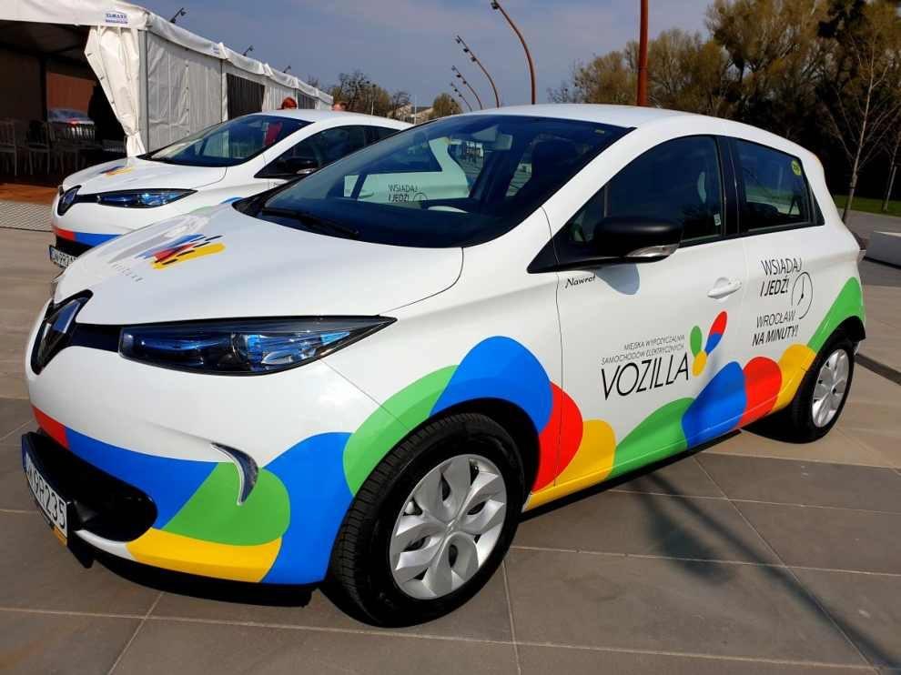 Samochody elektryczne we Wrocławiu