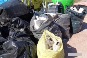 Podrzucone odpady budowlane