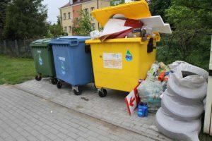 selektywna zbiórka opadów w Mielcu