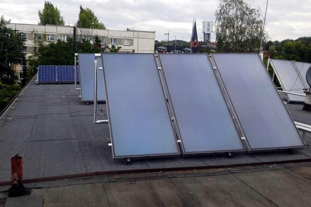 dzięki energii słonecznej