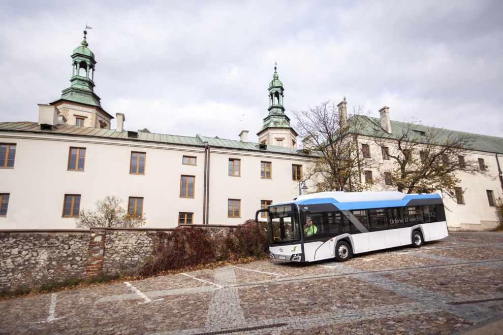 Elektryczne autobusy