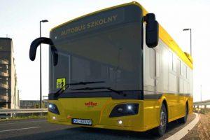 do szkoły autobusami elektrycznymi