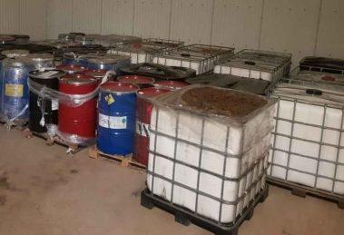 Nielegalne składowanie odpadów niebezpiecznych