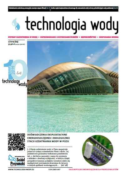 monitoring wód podziemnych Technologia Wody