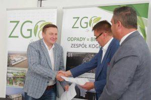 Nowy zbiornik na biogaz i zakup ciężarówki