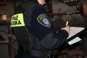 w działaniach poznańskich strażników miejskich