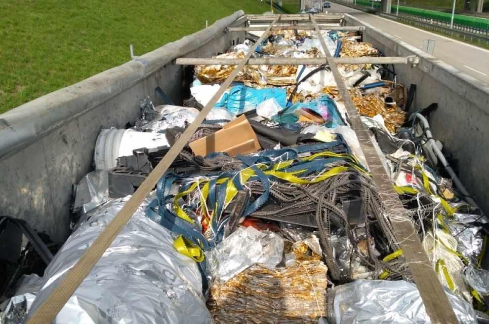 Nielegalny transport odpadów z Niemiec