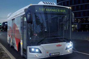 Autobusy elektryczne przyjazne dla środowiska