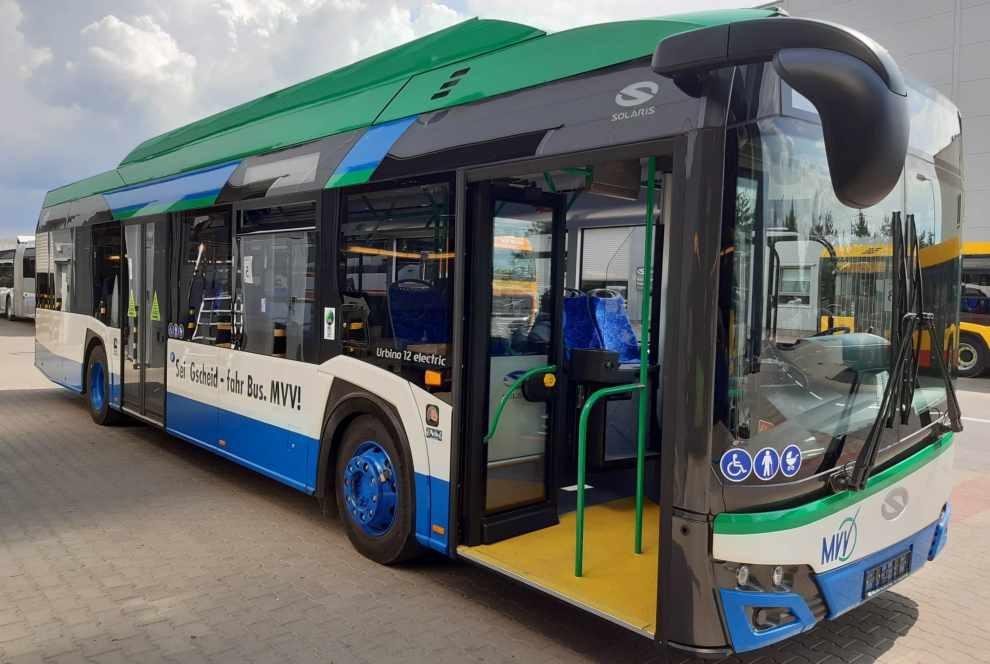 pojadą elektryczne autobusy