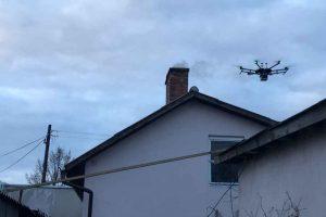 Jakość powietrza zmierzą z użyciem drona