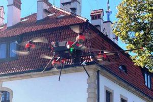 Dron, czujniki i jakość powietrza