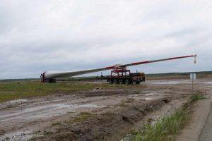 Montaż turbin wiatrowych