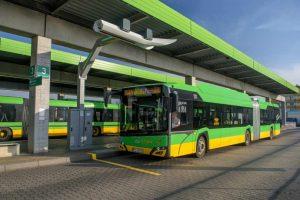 autobusy elektryczne na trasie
