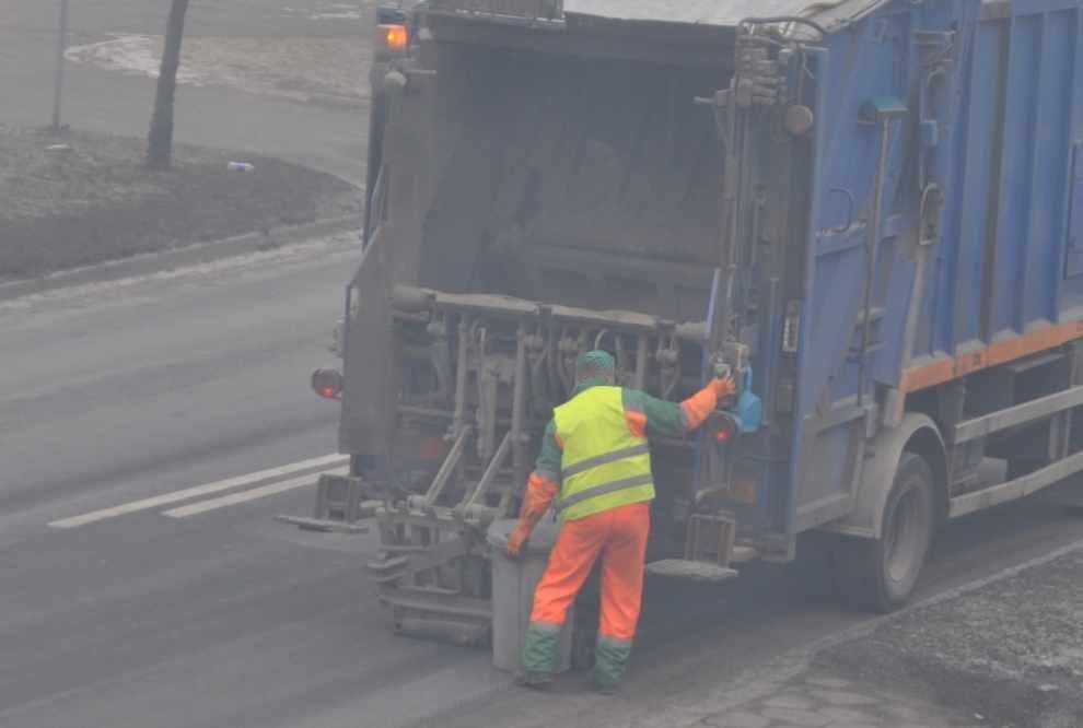 Kontrola odbierających odpady komunalne