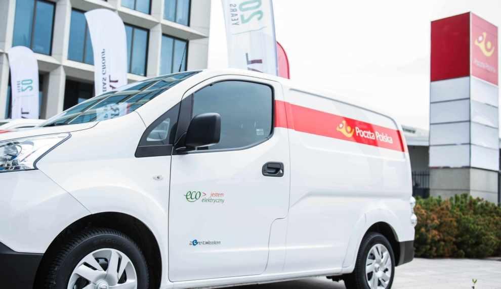 Poczta rozwija elektromobilność