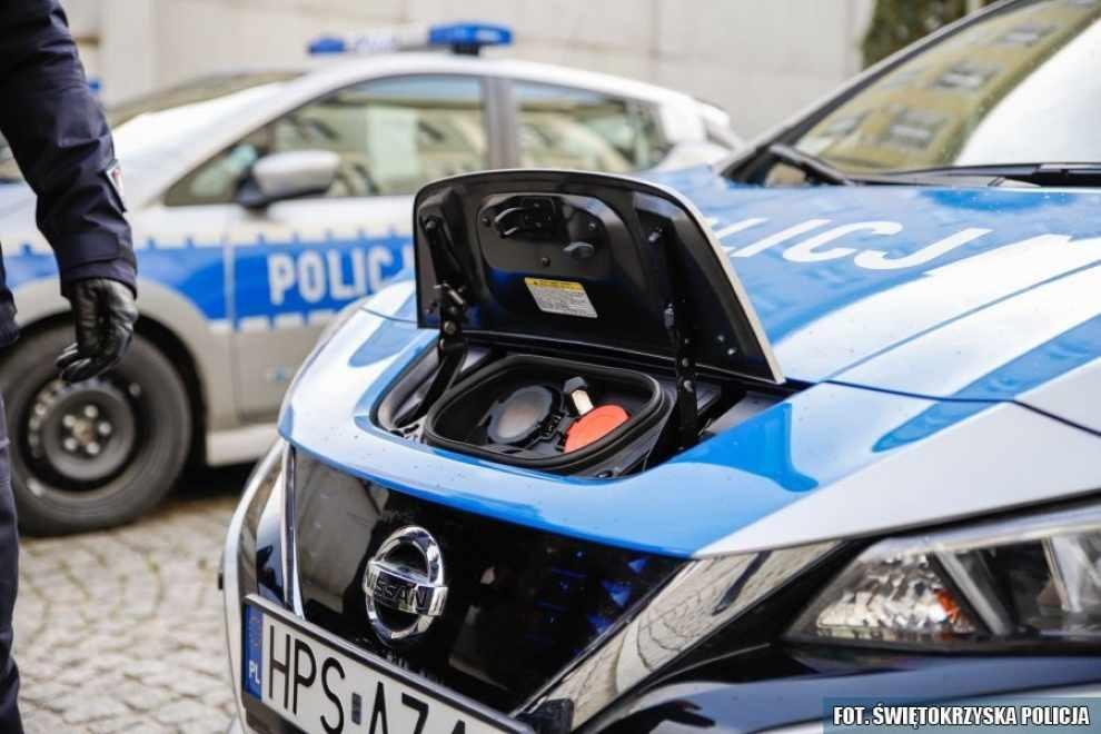 Elektryczne radiowozy dla świętokrzyskich policjantów