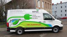 MPGK z pojazdem elektrycznym