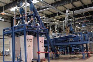 Zakład recyklingu opon
