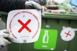 Segregacja odpadów w stolicy